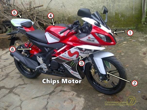 Yamaha R15 by Chips Motor 18