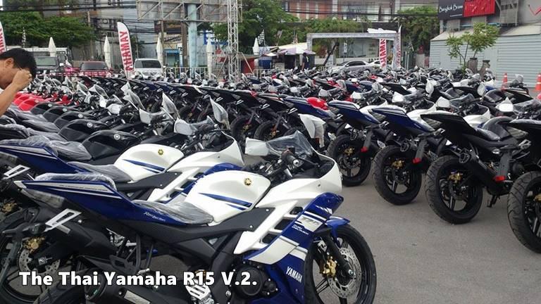 yamaha YZF-R15 V2.0 Thailand
