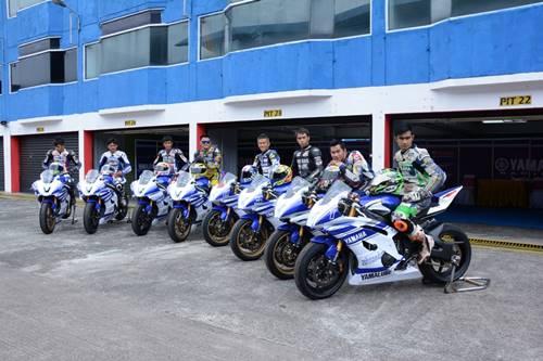 7 rider peserta Yamaha Riding Academy Step 2 di Sentul International Circuit