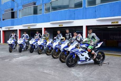 7 rider peserta Yamaha Riding Academy Step 2 di Sentul International Circuit