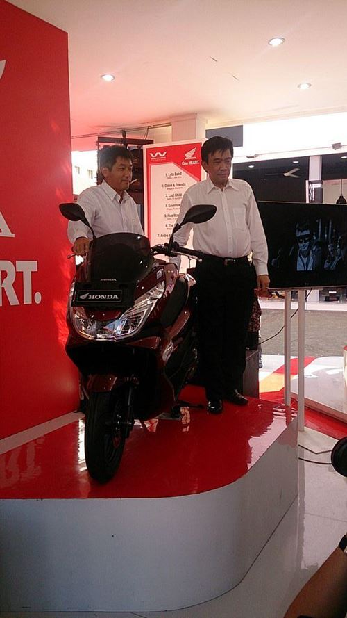 All New Honda PCX 150 2015 launch Indonesia 01
