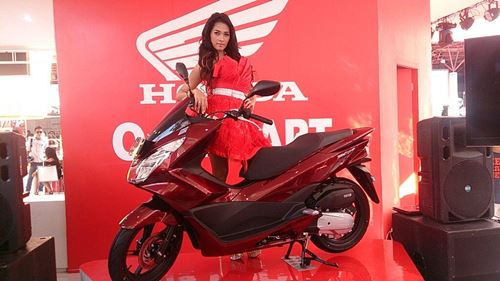 All New Honda PCX 150 2015 launch Indonesia 02
