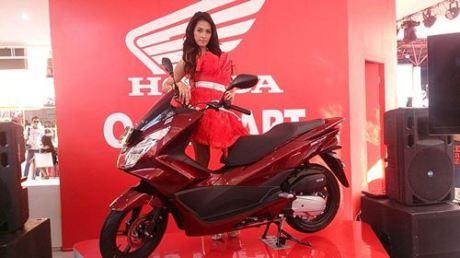 All New Honda PCX 150 2015 launch Indonesia 02