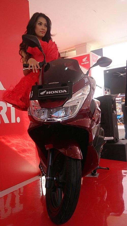 All New Honda PCX 150 2015 launch Indonesia 03