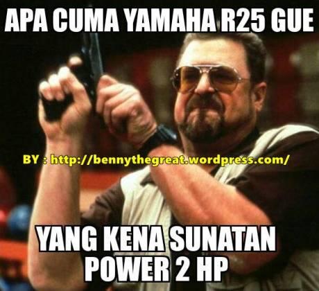 apa cuma yamaha r25 gue yang kena sunatan 2 HP