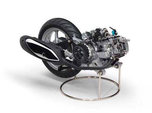Blue Core Engine Scooter 125 cc Yamaha 1