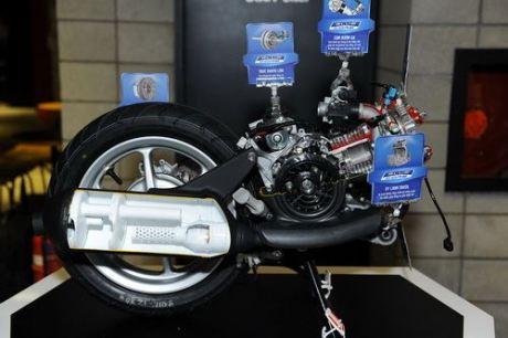 Blue Core Engine Scooter 125 cc Yamaha 2