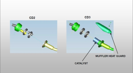 catalic converter suzuki satria F 150 keluaran 2014