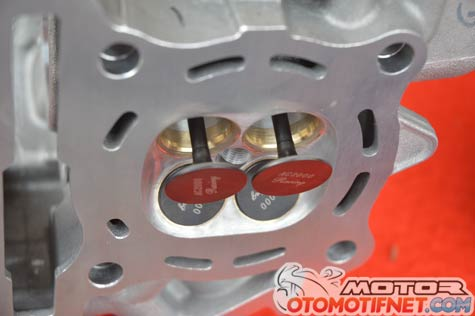 cylinder head Yamaha R15 spek OMR by BRT 6