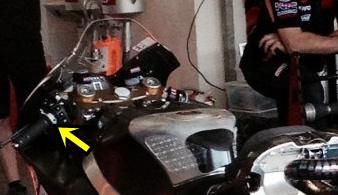 detailed thumb brake honda RC213V season 2015