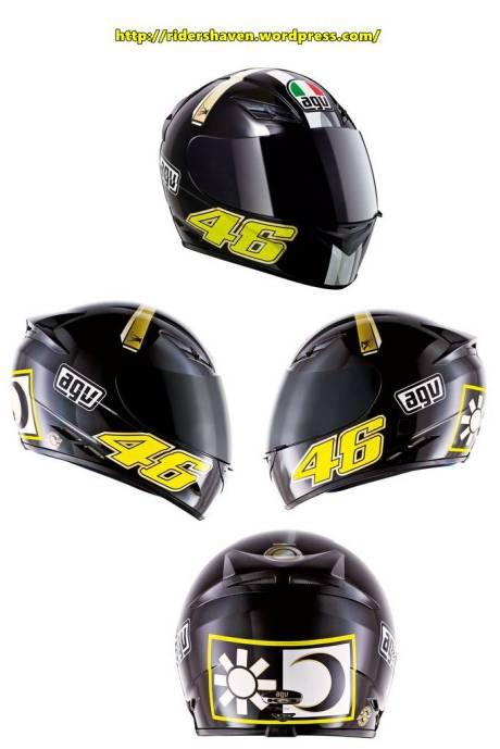 Helm AGV K3 SWORD Valentino Rossi