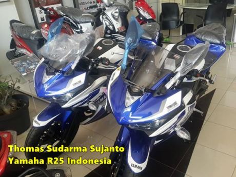 Helm standar Yamaha R25 12