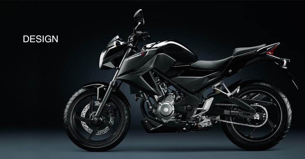 Honda CB250F black