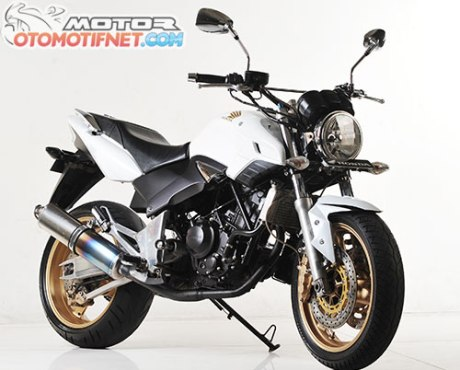 Honda Tiger Revo pakai mesin Honda CBR250R 1