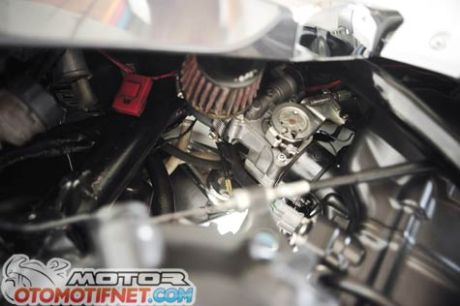 Modifikasi Honda Tiger Revo Engine Swap Honda CBR250R habis Rp. 40