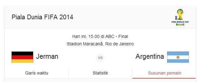 jerman vs argentina piala dunia 2014