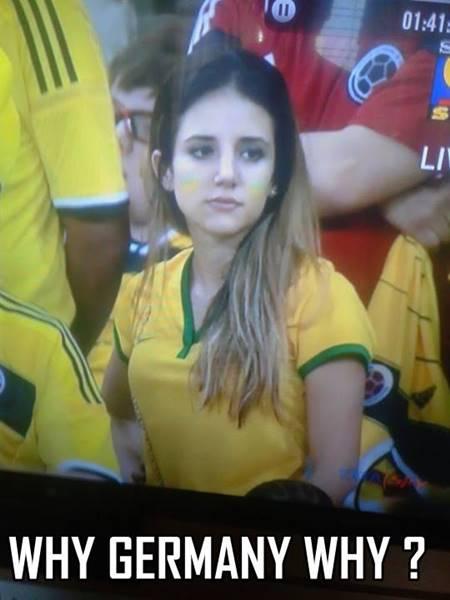 Kesedihan Warga Brazil setelah gagal melaju ke semifinal piala dunia 2014 7