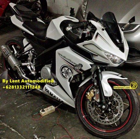 Modifikasi Yamaha New Vixion Full Fairing by Lent Automodified 1