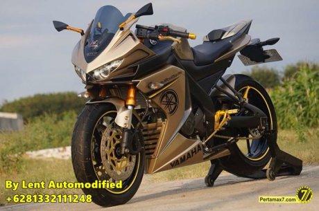 Modifikasi Yamaha New Vixion Full Fairing by Lent Automodified 17