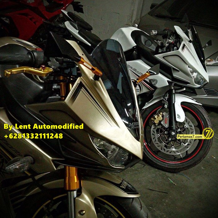 Modifikasi Yamaha New Vixion Full Fairing by Lent Automodified 3