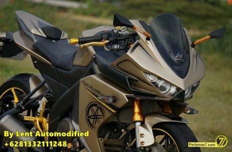 Modifikasi Yamaha New Vixion Full Fairing by Lent Automodified 4