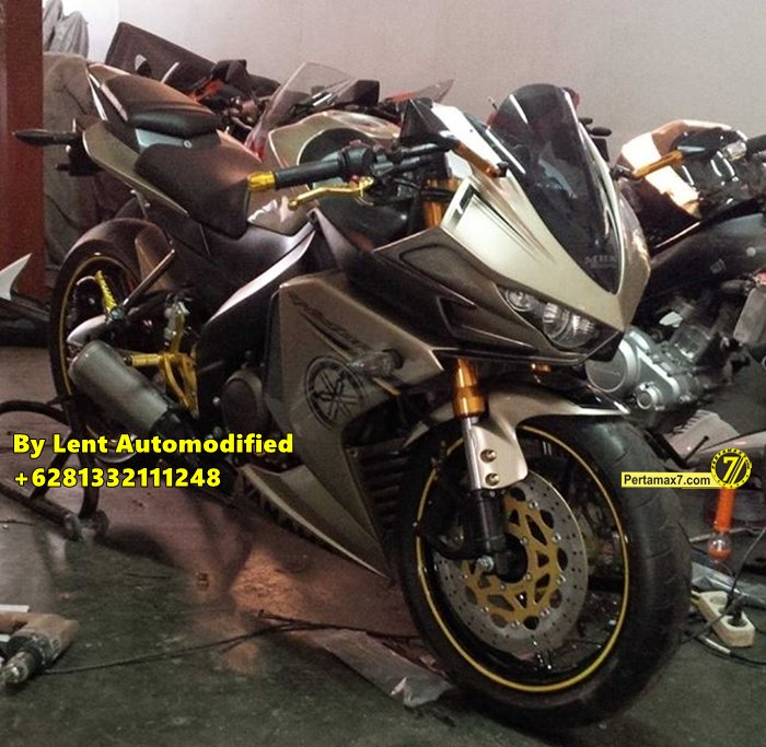Modifikasi Yamaha New Vixion Full Fairing by Lent Automodified 5