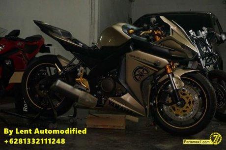 Modifikasi Yamaha New Vixion Full Fairing by Lent Automodified 7