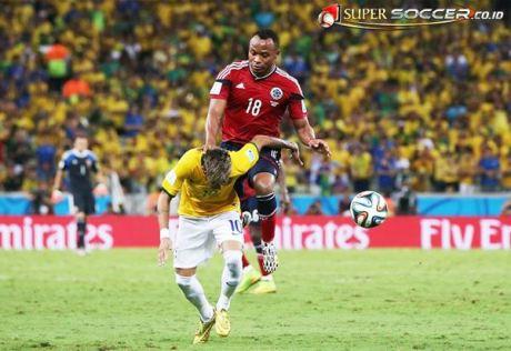 Neymar Cedera Tulang Belakang di Brazil  7