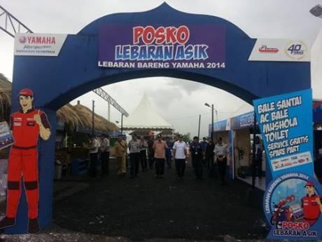 Pos Jaga Lebaran Yamaha 2014 di Tajur Bogor