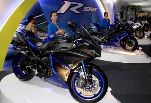 R-Series di perayaan 40 Tahun Yamaha Indonesia dan R25 Global Model Production