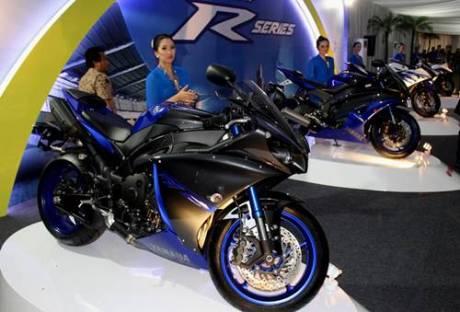 R-Series di perayaan 40 Tahun Yamaha Indonesia dan R25 Global Model Production