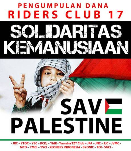RC17 Solidaritas Kemanusiaan Save Palestine 0