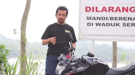 Review Yamaha New V-ixion 2013 Indonesia by KARS TV 4