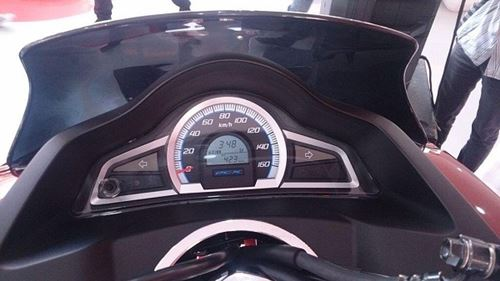 Speedometer All New Honda PCX 150 2015 launch Indonesia 13