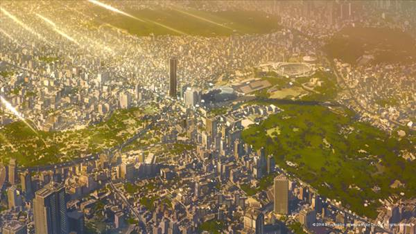 Suasana kota Tokyo di tahun 2017