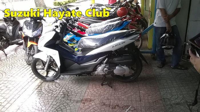 Suzuki Impulse 125 Vietnam 1