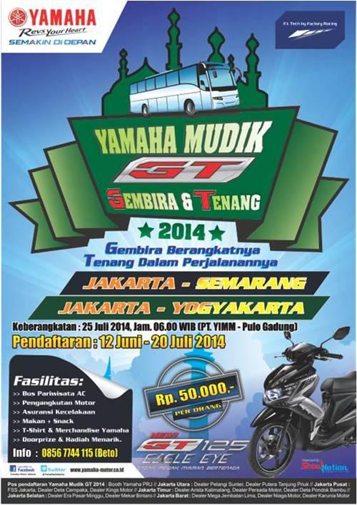 Yamaha Mudik GT (Gembira & Tenang) 2014