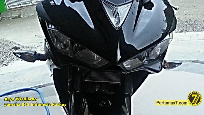 Yamaha R25 pakai lampu sein Yamaha new Vixion Pertamax7.com  2
