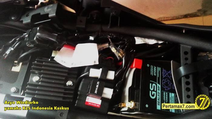 Yamaha R25 pakai lampu sein Yamaha new Vixion Pertamax7.com  4
