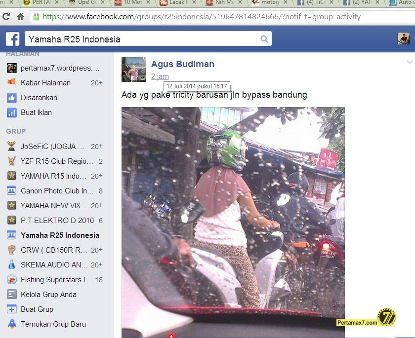 yamaha tricity di Bandung