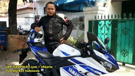 Yamaha YZF-R25 Jakarta 7leopold7