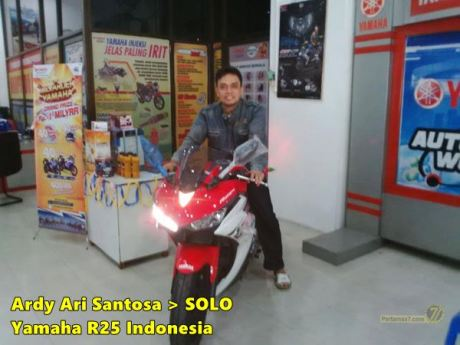 Yamaha YZF-R25 Solo Jawa tengah 0