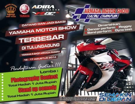 armada motor show tulungagung 2014