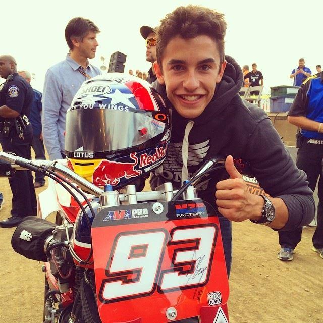 Helm Marc Marquez sambut motogp Indianapolis 2014 0