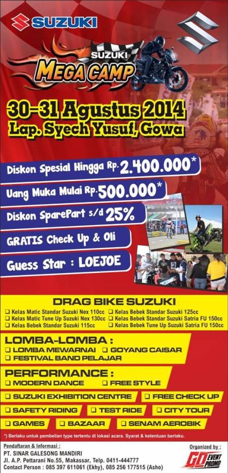 Iklan MegaCamp Gowa 2014 (3x280mm)