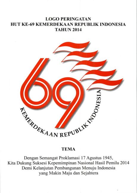 logo kemerdekaan Indonesia ke 69