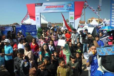 Masyarakat di event Indonesia Semakin di Depan Bakti 40 Tahun Yamaha untuk Negeri di Bandung (2)