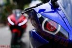 Modifikasi yamaha R15 pakai Projie ala Yamaha R1 pertamax7.com 0