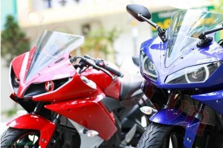 Modifikasi yamaha R15 pakai Projie ala Yamaha R1 pertamax7.com 1
