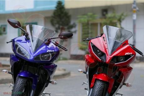 Modifikasi yamaha R15 pakai Projie ala Yamaha R1 pertamax7.com 12
